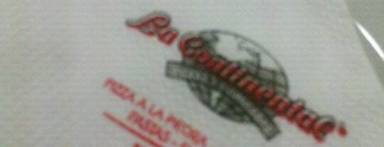 La Continental is one of las mejores 10 pizzerias.