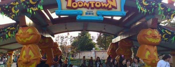 Toontown is one of Disney.