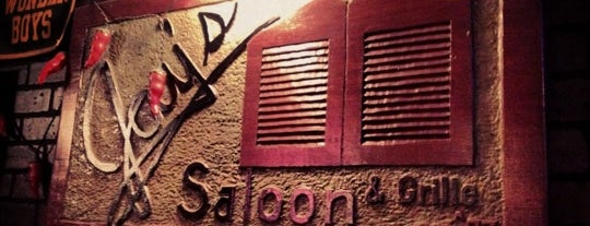 Jay's Saloon & Grille is one of crash course: dc.