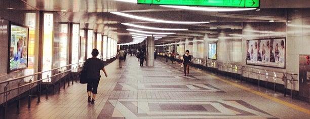 Subway Sendai Station (N10/T07) is one of My Sendai.