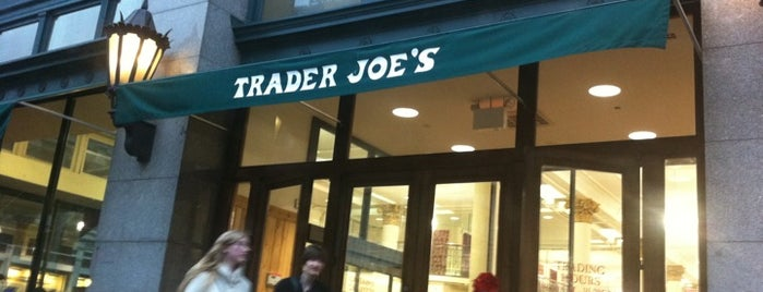 Trader Joe's is one of to do list.