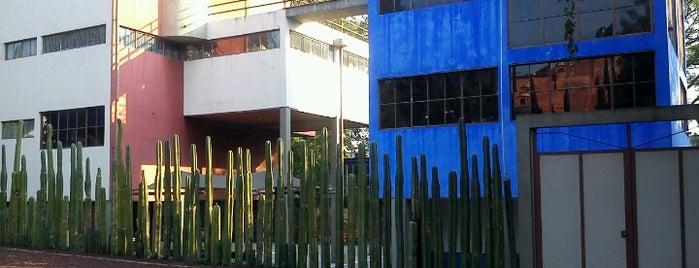 Museo Casa Estudio Diego Rivera y Frida Kahlo is one of [To-do] DF.