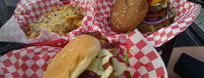 Jake's Burgers & Billiards is one of Burger Joints!.