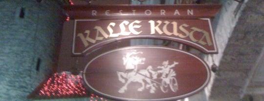 Kalle Kusta Resto is one of The Barman's bars in Tallinn.