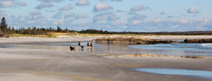 Kejimkujik Seaside - St. Catherines River Beach is one of Top 10 Beaches in Nova Scotia.