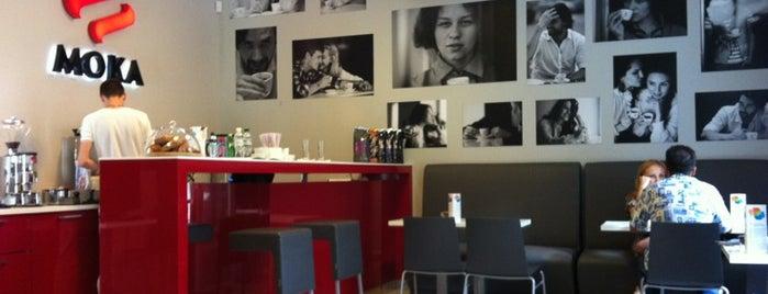 MOKA Cafe is one of Cafe Kyiv (Kiev, Ukraine).