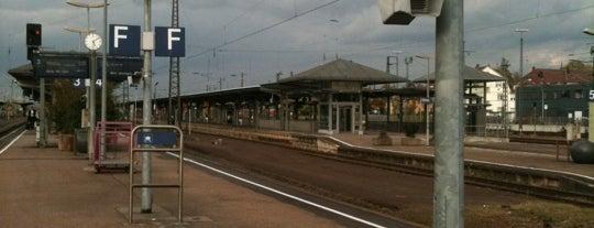 Bahnhof Offenburg is one of Bahnhöfe DB.