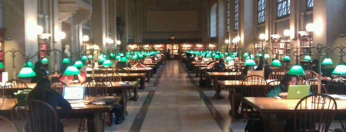 Boston Public Library is one of BUcket List.