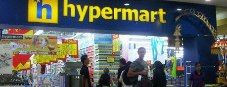 hypermart is one of Venue Of Mal Bali Galeria.