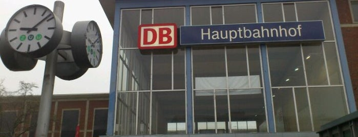 Münster (Westf) Hauptbahnhof is one of Bahnhöfe DB.