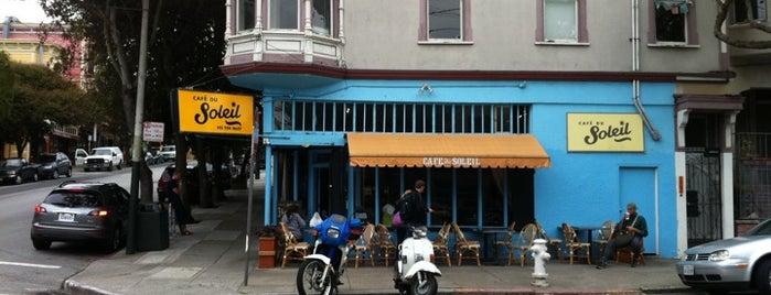 Le Café du Soleil is one of Favorite Places.