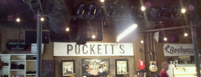 Puckett's Grocery & Restaurant is one of Favorite Dating Spots!.
