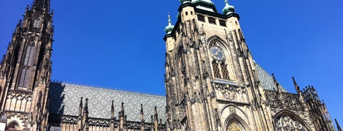 St. Vitus Cathedral is one of Prague.