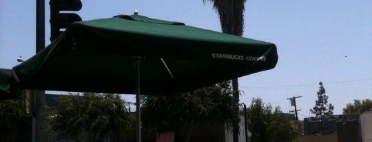 Starbucks is one of LA and beach cities as a local.