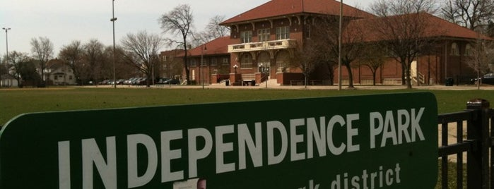 Independence Park is one of Chicago Park District Fitness Centers.