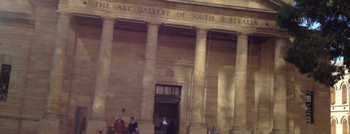 Art Gallery of South Australia is one of Adelaide.