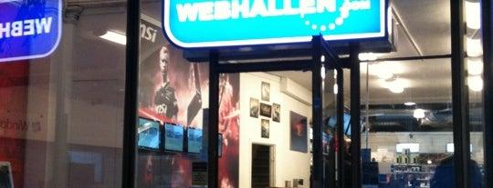 Webhallen is one of Stockholm 2017.