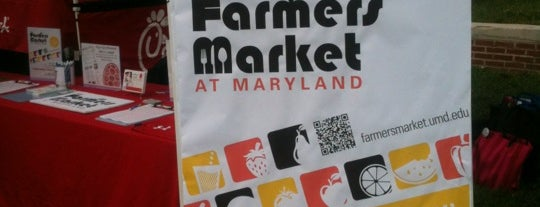 The Farmers Market at Maryland is one of Life Around D.C. Metro.
