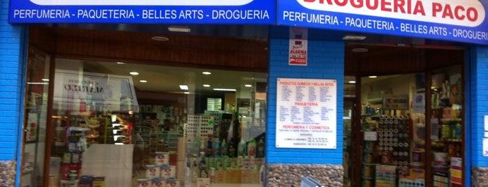 Droguería Paco is one of lomejordebenimaclet.com.