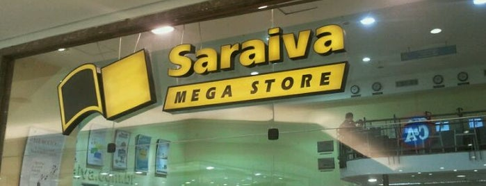 Saraiva MegaStore is one of Guide to São Paulo's best spots.