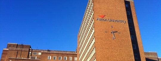 Aston University is one of Birmingham Student Life.