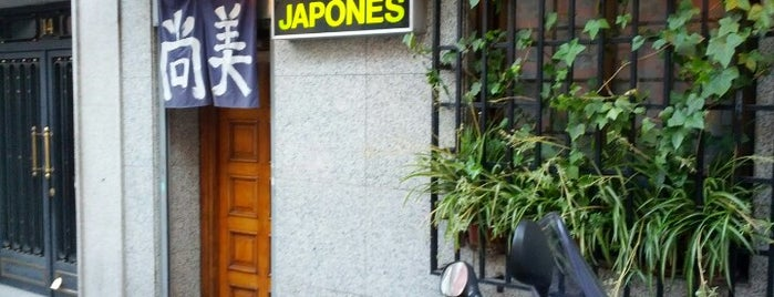 Naomi Japonés is one of lugares madrid.