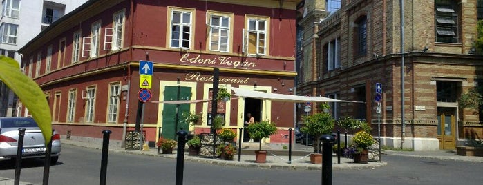 Édeni Vegán – Kézműves Vegetáriánus Étterem is one of Badge ¤ Herbivore.