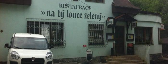 Na tý louce zelený is one of Podniky se srandovním názvem.