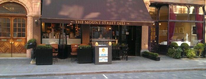 Mount Street Deli is one of Eat London 2.