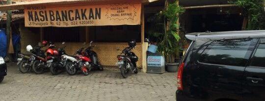 Nasi Bancakan Mang Barna & Bi O'om is one of Bandung Food Foursquare Directory.