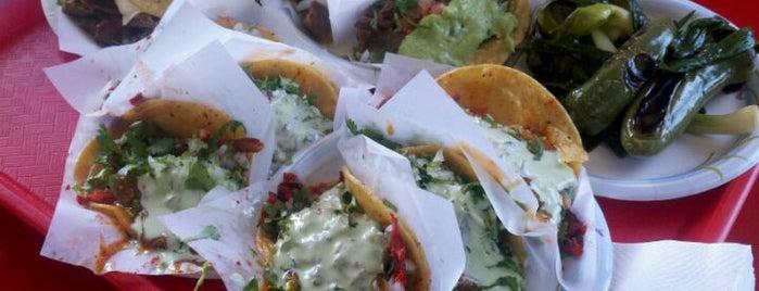 Tacos El Gordo De Tijuana is one of Favorite Haunts Insane Diego.
