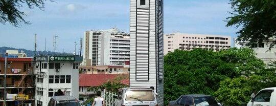Atkinson Clock Tower is one of Kota kinabalu.