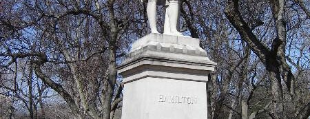 Alexander Hamilton Statue is one of Central Park Monuments & Memorials Tour.