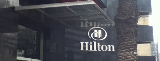 Hilton Bogotá is one of Mis hoteles favoritos.