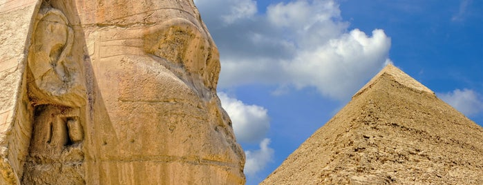 Great Pyramids of Giza is one of I Want Somewhere: Sights To See & Things To Do.