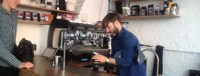 Protein by Dunne Frankowski is one of London's Best Coffee.