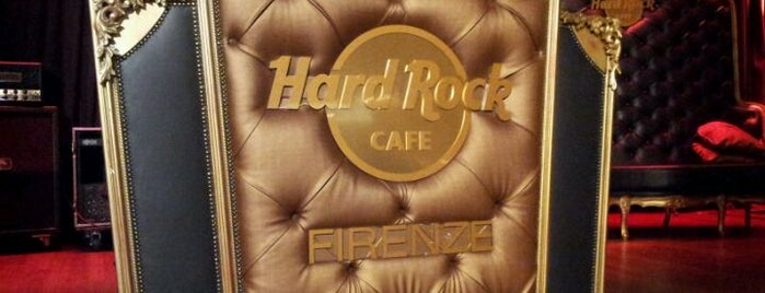 Hard Rock Cafe Florence is one of #4sqCities #Firenze -  50 Tips for travellers!.