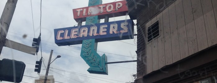Tip Top Dry Cleaners is one of Portland Signs.