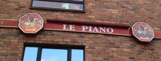 Le Piano is one of Réseau carte Ticket Restaurant®.