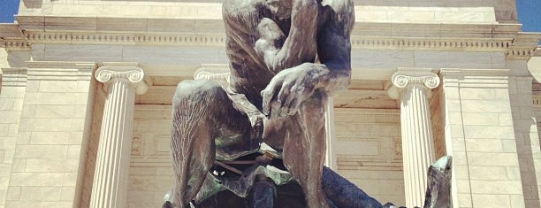 The Thinker by Auguste Rodin is one of CLEVELAND.