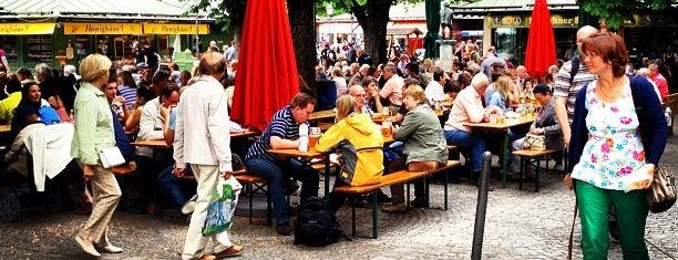 Biergarten am Viktualienmarkt is one of Munich AfterWork Beer - Hau di hera, samma mehra!.
