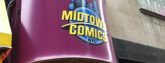 Midtown Comics is one of Ultimate NYC Nerd List.