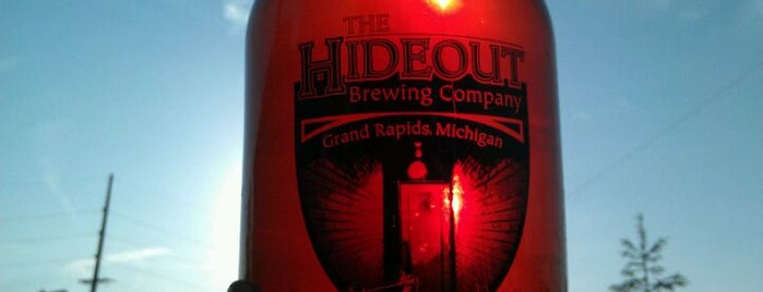 Hideout Brewing Company is one of Michigan Breweries.