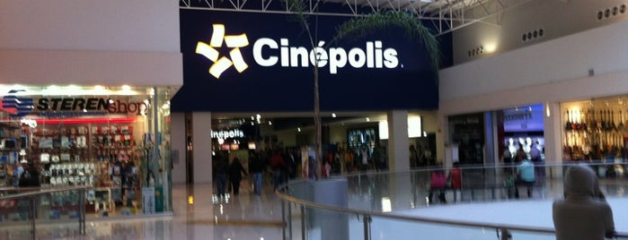 Cinépolis is one of lugarsitos.