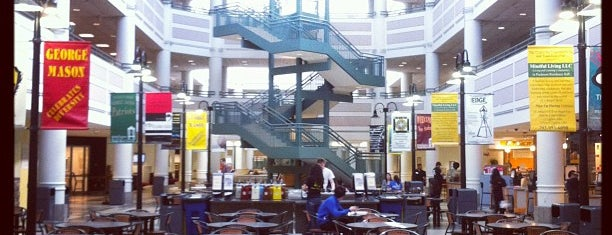 Johnson Center - George Mason University is one of GMU Fairfax Campus.