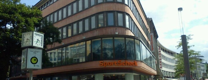 SportScheck is one of Hannover.