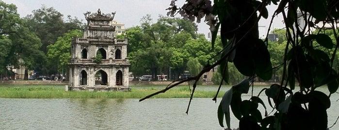 Hoan Kiem Lake is one of MUST.