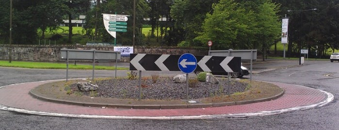 Named Roundabouts in Central Scotland