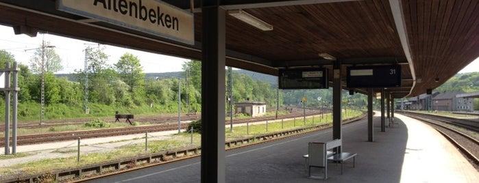 Bahnhof Altenbeken is one of DB ICE-Bahnhöfe.