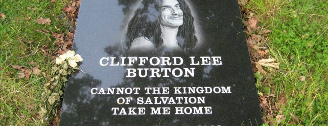 Lugar donde murió Cliff Burton is one of Dead Rock Star Tour.